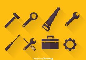 Vector d'icônes d'outils