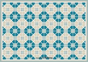 Simple Vector Pattern/Tiles With Geometric Shapes Pattern