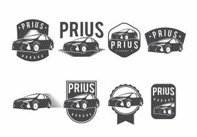 Prius badge set