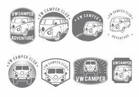 Ensemble de badge VW Camper
