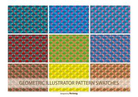 Geometriska Vector Pattern Patterns