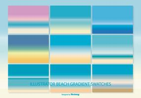 Illator gradient beach swatches
