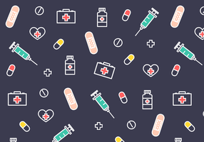 Free Medical Pattern Vector