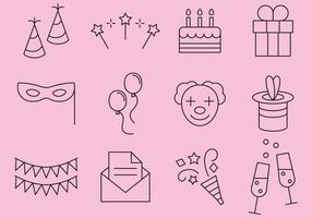 Party Line Icons