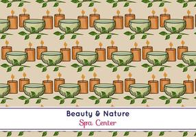 Free Vector Spa Pattern