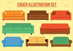 Couch Vector Set
