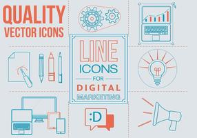 Free Linear Art Vector Icons