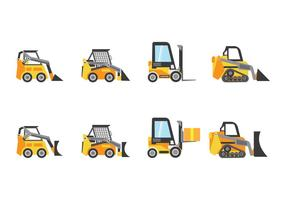 Skid Steer Vector gratuito