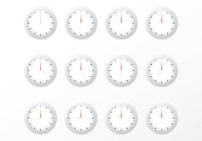 Gratis klockvektorer