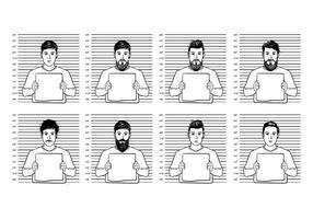 Mugshot Vector Personas