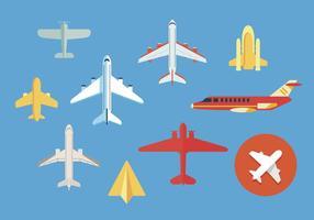 Avion vector illustrations 2