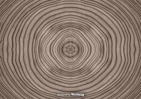 Vector Abstract Tree Rings Background