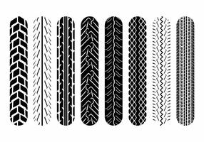 Motorcycle Tire Marks  vector