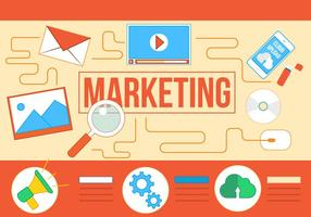 Iconos De Vector De Marketing Libre