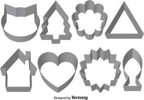 Set med Vector Cookie Cutters