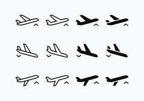 Vector Gratis Avion