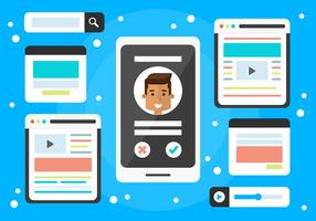 Gratis Sociale Media Vector Elementen