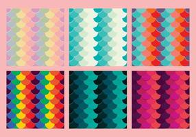 Gratis Fish Scales Vector Pattern 5