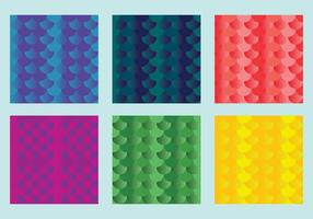 Gratis Fish Scales Vector Pattern 1