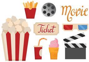 Vectores gratuitos de la película