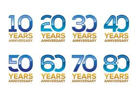 Libre Aniversario Vector Pack
