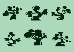 Vecteur baobab