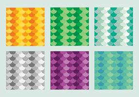 Gratis Fish Scales Vector Pattern 3