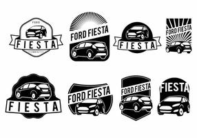 Ensemble de badge Ford Fiesta