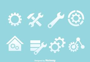 Service Tools Icons Vectors