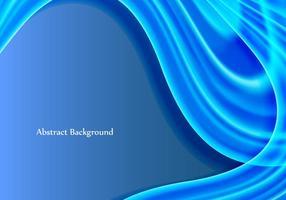 Vector libre de la onda azul de fondo