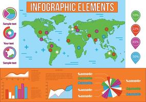 Gratis Infographic Vector Elements
