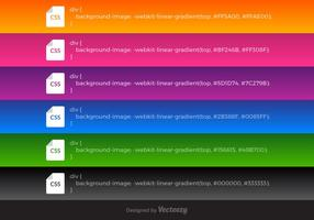 Free Vector CSS Linear Gradients
