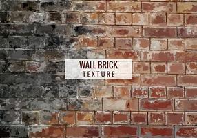 Free Vector Brick Texture Hintergrund