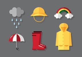 Vectoriales lluvioso