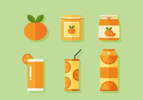 Vettore arancione