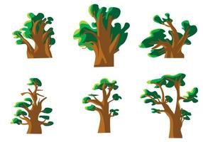 Vector de Baobab
