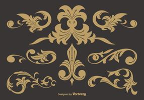 Western Flourish Vectors