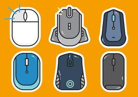 Free Mouse Click Vector 1
