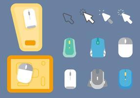Vetor de mouse pad gratuito 3