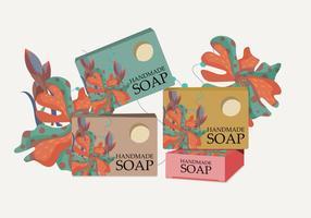 Vettore scatola di sapone
