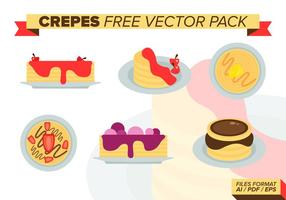 Crepes fri vektor pack