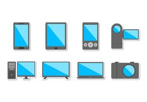 Free Electronic Devices Icon Vector