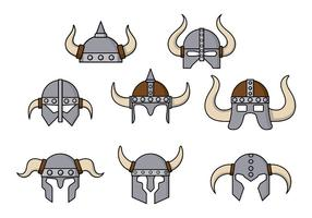 Barbaarse Helm Vector