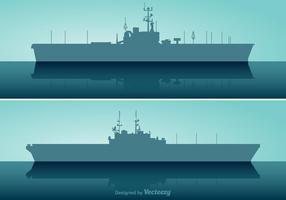 Ensemble vectoriel de porte-avions gratuit