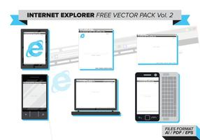 Internet Explorer Gratis Vector Pack Vol. 2