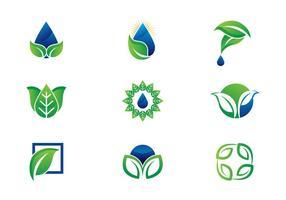 Gratis Leaf / Hojas Logo Vektorer