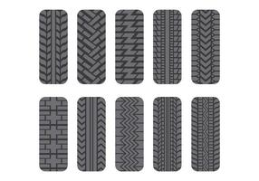 Tractor Tire Icons Pack