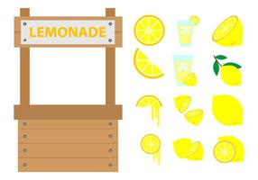 Gratis Lemonade Stand Vector