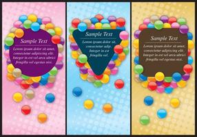 Smarties Flyers vector