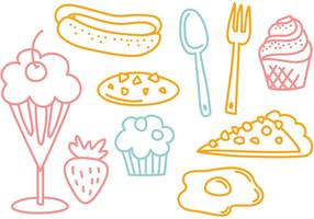 Free Food Vektoren